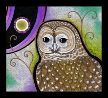 Spotted Owl as Totem by Ravenari