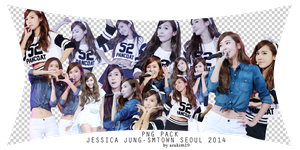 [PNG PACK] JESSICA JUNG (SNSD)-SMTOWN SEOUL 2014 by babyjung2