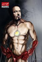 Sexy marvel - Iron man by cioartofheart