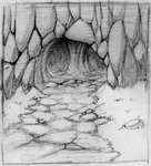 Cave Opening by chibiki
