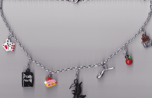 Death Note Charm Necklace by bones-sickle