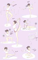 Isa Rythmic Gymnastics by NeenBing