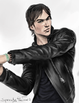 Ian Somerhalder - speed painting by buzzelliArt