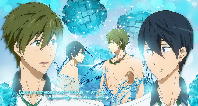 MakoHaru wallpaper by strawberry4750