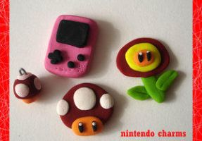 NINTENDO charms - SaMtRoNiKa by Cute-Craft