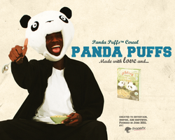 Panda puffs by PropertyVision