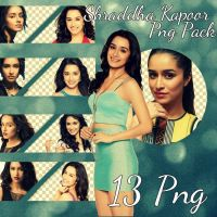 Shraddha Kapoor Png Pack by SidEla