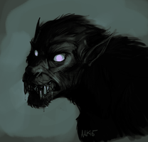 Scary Dog 2 by weremagnus