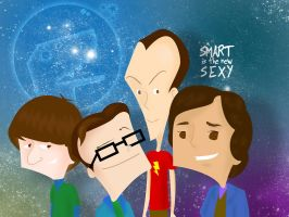 Big Bang Theory by isrobriones