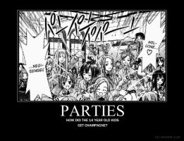 Negima Party by Ry-Guy176