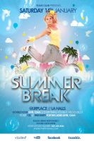 Summer Break Flyer by outlawv15