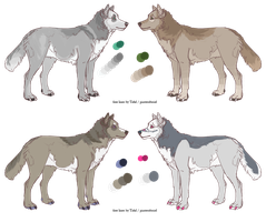 Sloppy wolf adopts closed by Jessadopts