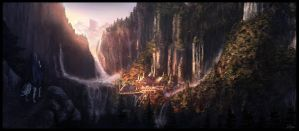 Lord of the Rings Film Study: Rivendell by ChrisDrake1987