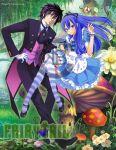 Gray and Juvia : Gruvia Alice in Wonderland by nina2119