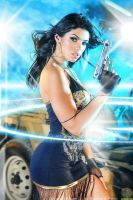 Actiongirls Mya Blue by ScottyJX