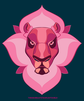 Lion bloom by Rhandi-Mask