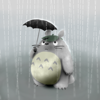 Totoro by ThatPuggy