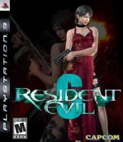 RE-6 Ada Wong Cover by Art-Master-1983