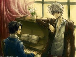 Hetalia :: On Piano by Sa-Dui