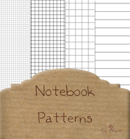 Notebook Patterns by Alywe