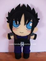 Final Fantasy VII Zack plushie by VioletLunchell