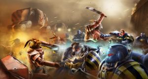 Astro Hares vs Space Marines by Kingstantin