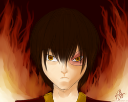 Prince Zuko by LeftyNinja