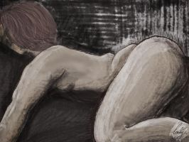 Nude Study by Karithina