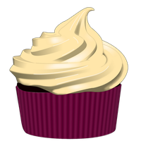 Red Velvet Cupcake by F-A
