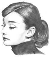 Audrey Hepburn by RichardBurgess