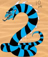 Sandworm Adopt 2: Blue Ice SOLD by Wolfprincess87