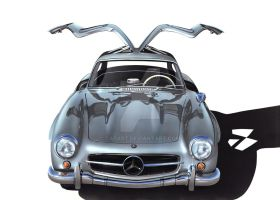 300 SL Gullwing by Carart