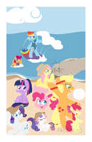 Beach Day (Mane) by Coggler