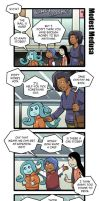 Modest Medusa intermission comics part 7 by JakeRichmond