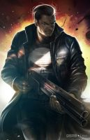 The Punisher by alex-malveda