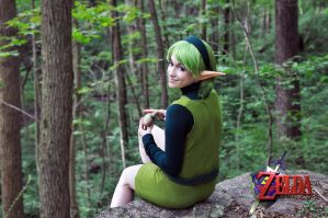Saria, Lost Woods by NintendoFanGirl