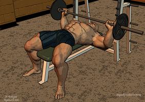 Bench Press by JTHMfreak