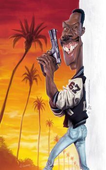 Axel Foley by AnthonyGeoffroy