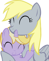 Dinky and Derpy by Animalsss
