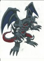 Black Skull Dragon by Azure-Dragon-Seiryu