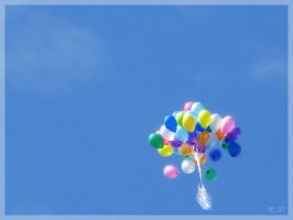 Our ballons by Amalfeja