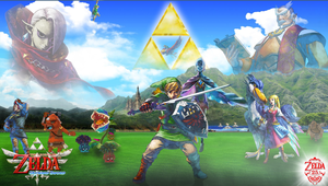Skyward Sword wallpaper by reptiletc