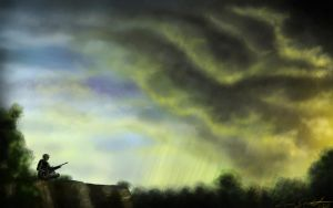 Coming Storm by Ferain