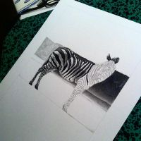 WIP: Stripes - 1 by HelenePiet