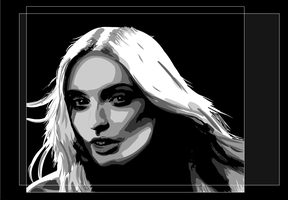 Vector woman by lmsmith