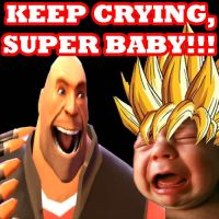 KEEP CRYING, SUPER BABY by Zaurask