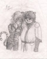 Po and Tigress by Artlesa