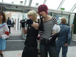 Matt and Mello cosplay 3 by LeatherAnd-Chocolate