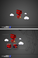 ROBOT ICON by 1Reticle