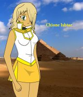 New OC - Chione Ishtar by YanderePrime